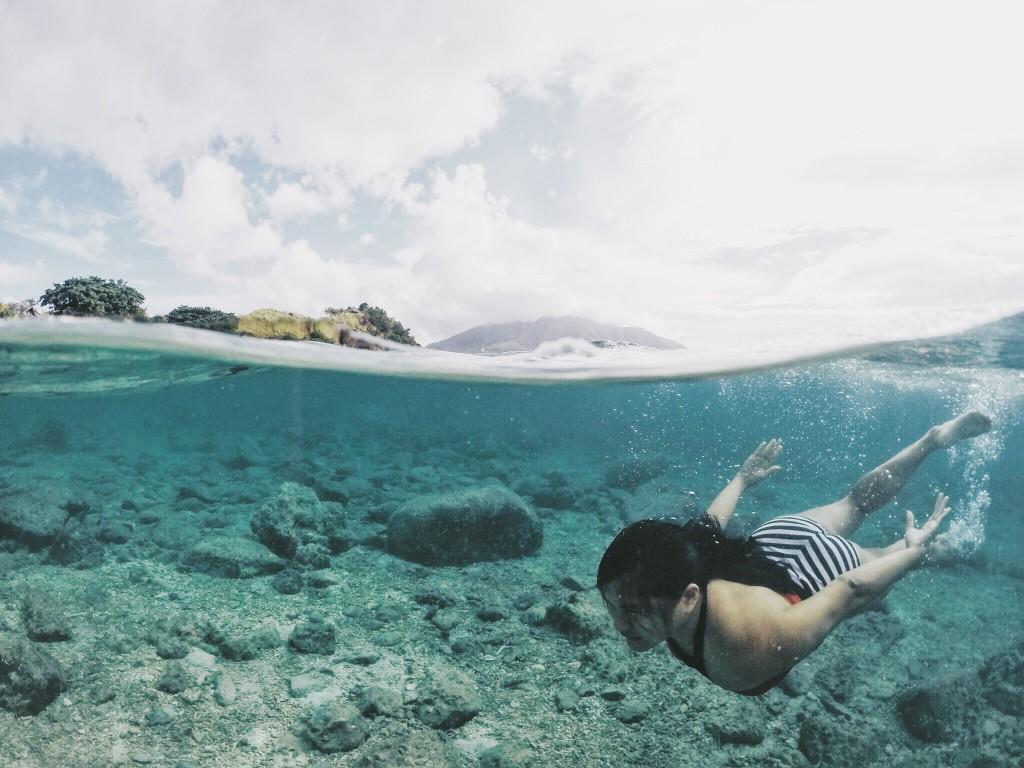 Snorkeling in Sambawan Island