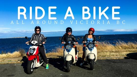 Biking Around Victoria