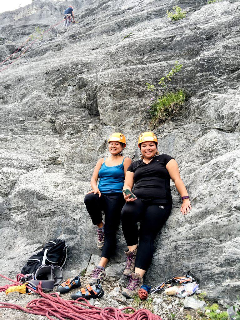 Yamnuska Rock Climbing (4)