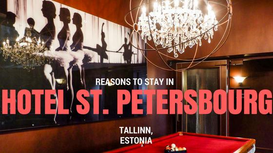 Hotel St. Petersbourg Tallinn