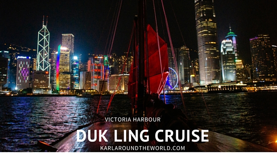 Duk Ling Cruises : Junk Boat in Victoria Harbour, Hong Kong 20