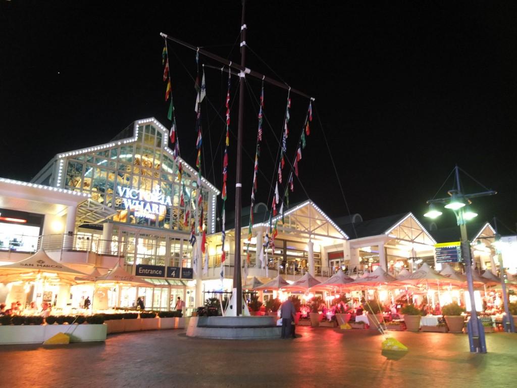 Victoria Wharf Night