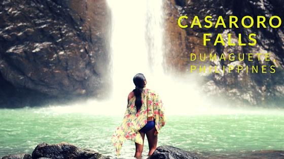 Casaroro falls Dumaguete