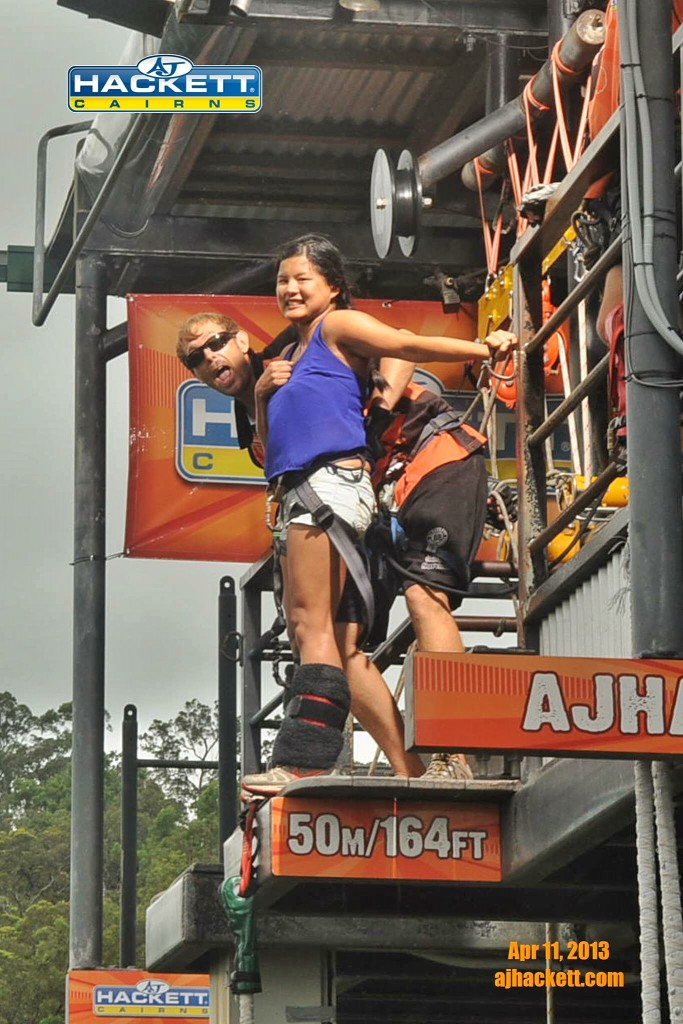 AJ Hacket Cairns Bungy Jumping