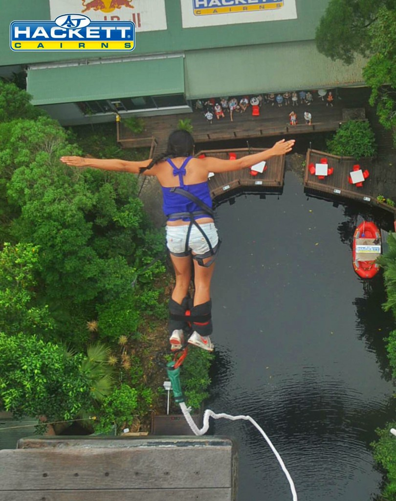 ATV bungy jumping