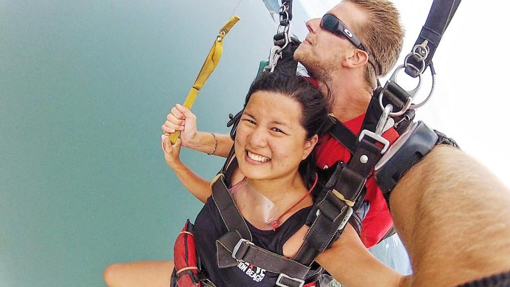 skydiving australia mission beach