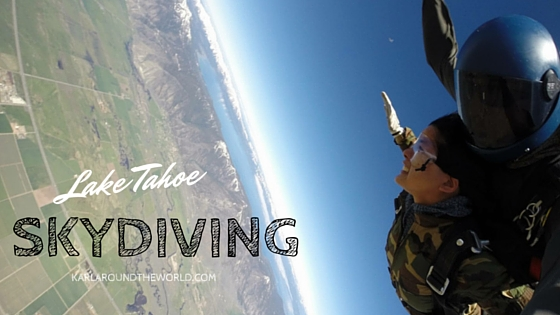 Skydiving Lake Tahoe