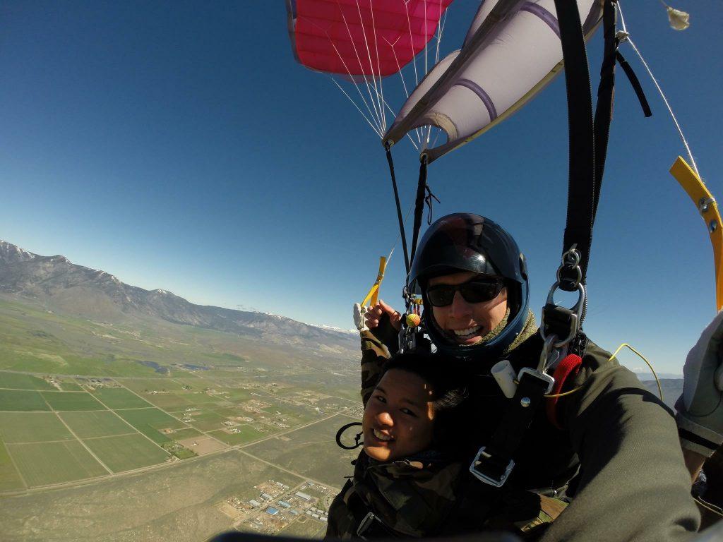 Skydiving Lake Tahoe