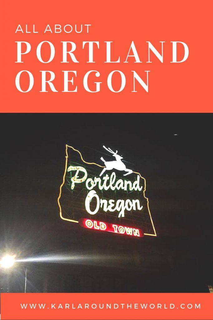 Must DO in Portland Oregon