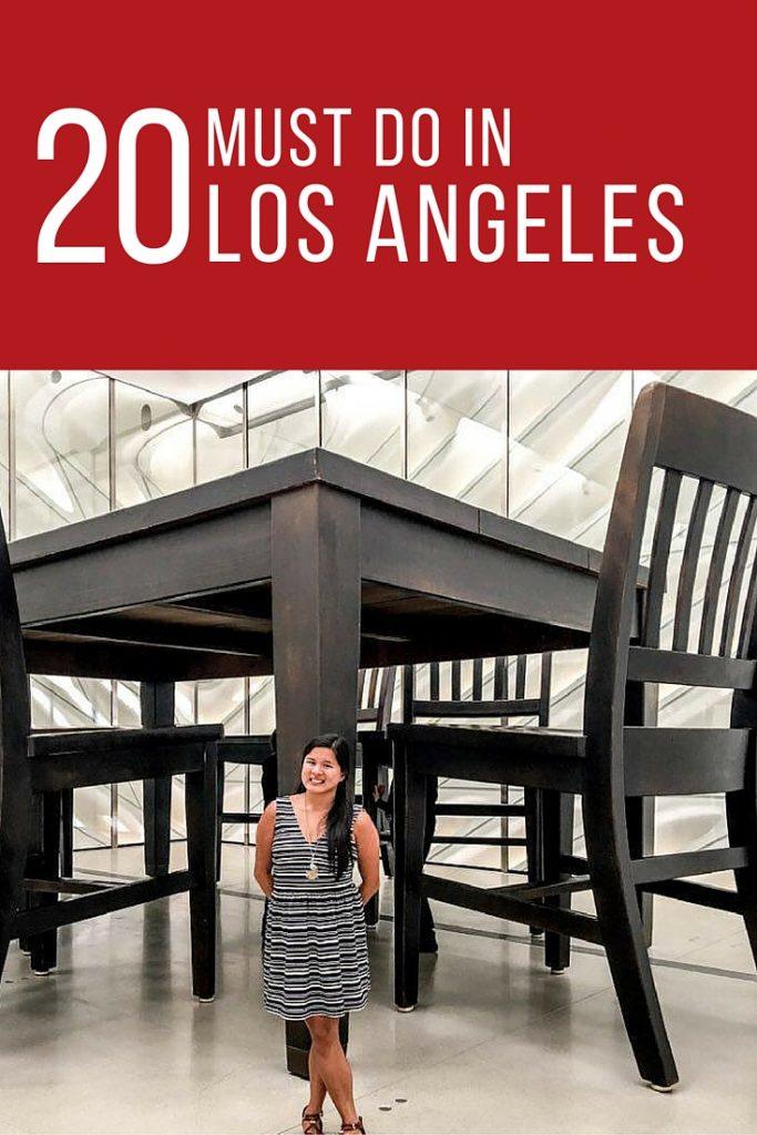Must Do in Los Angeles Karlaroundtheworld