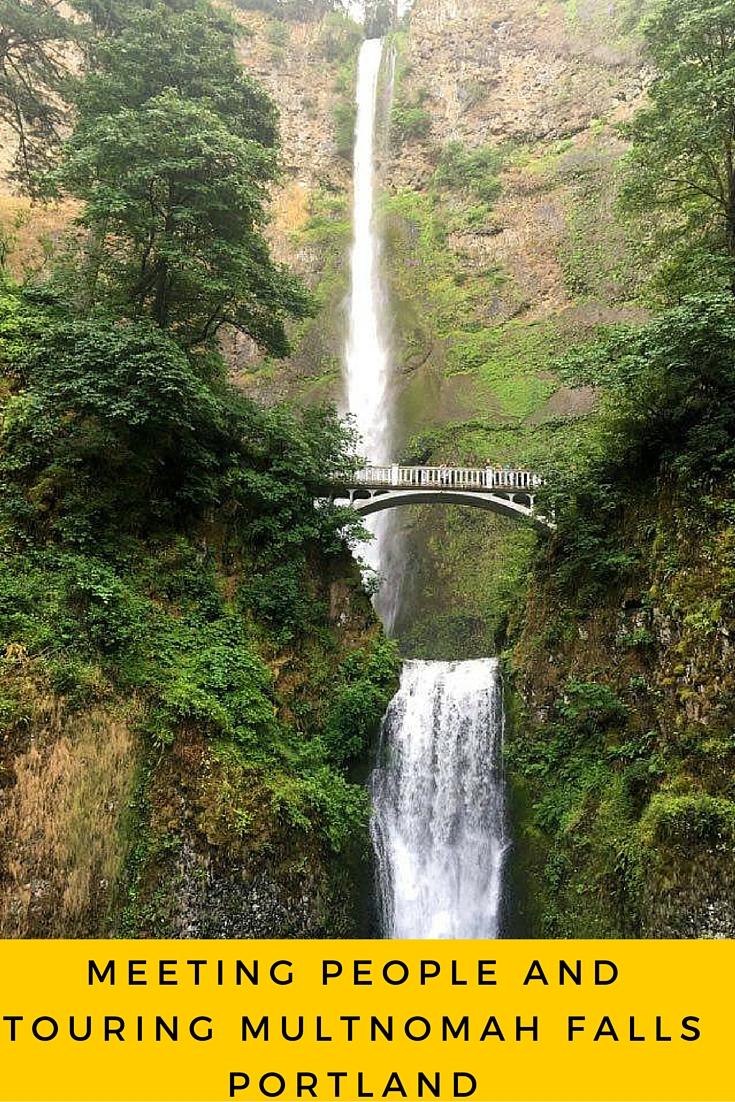Multnomah Falls Karlaroundtheworld