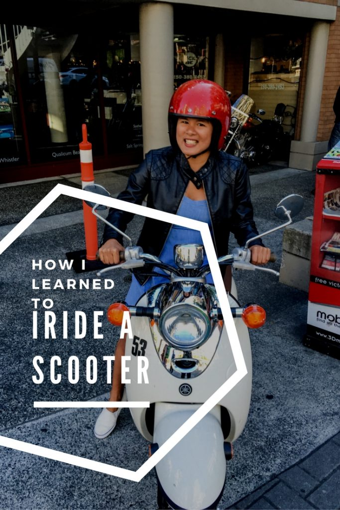 Scooter Ride in Victoria