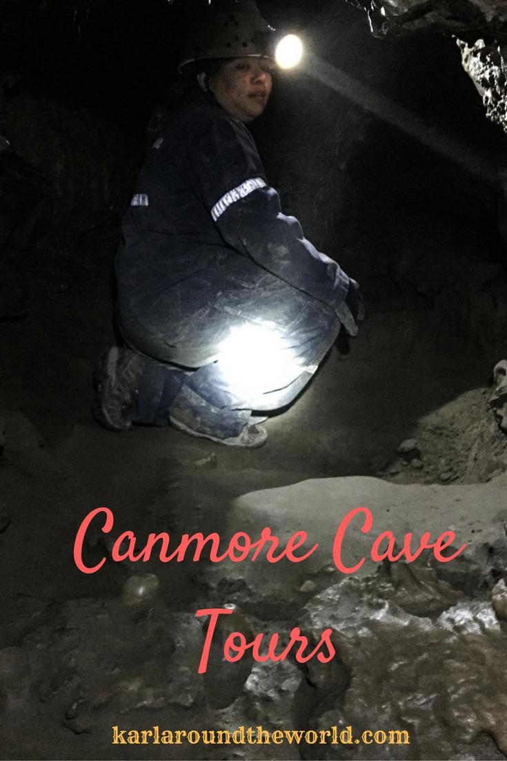 Canmore Cave Tour Karlaroundtheworld