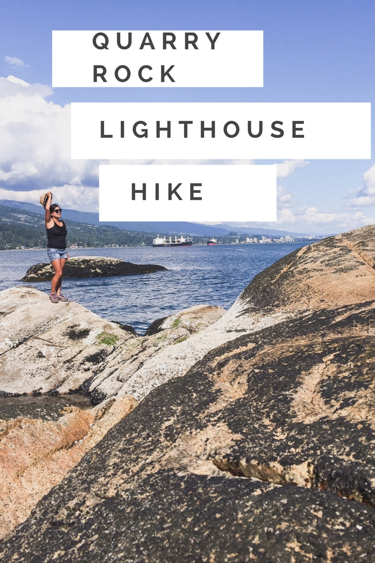 Lighthouse hike Vancouver