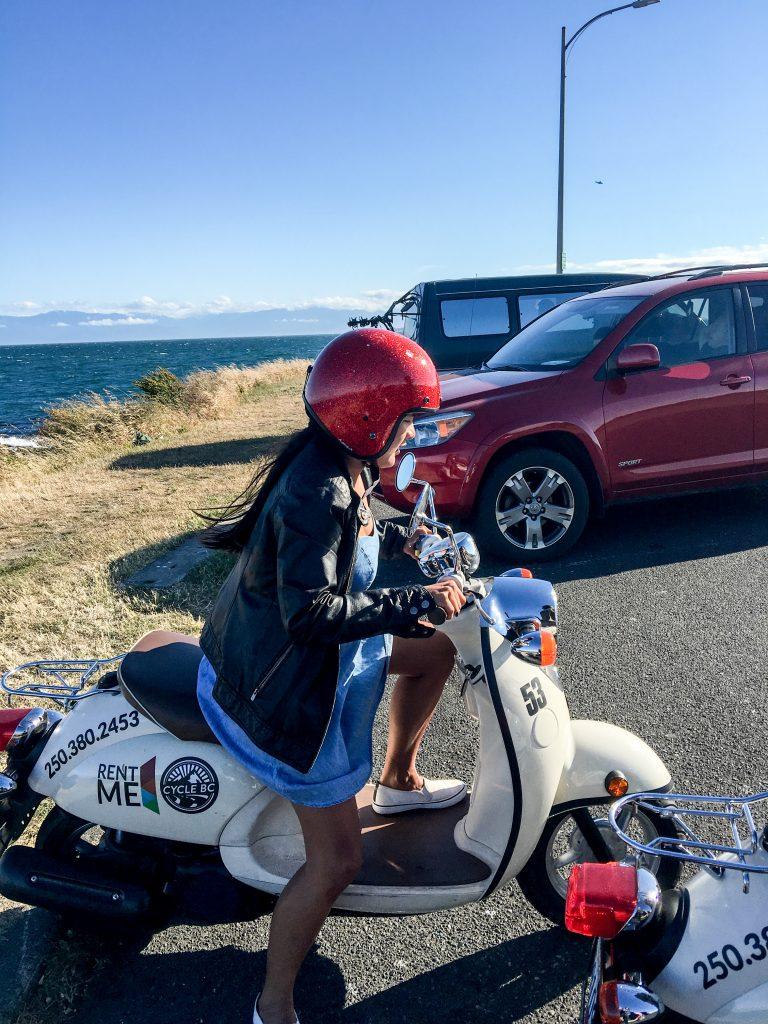 Biking in Victoria