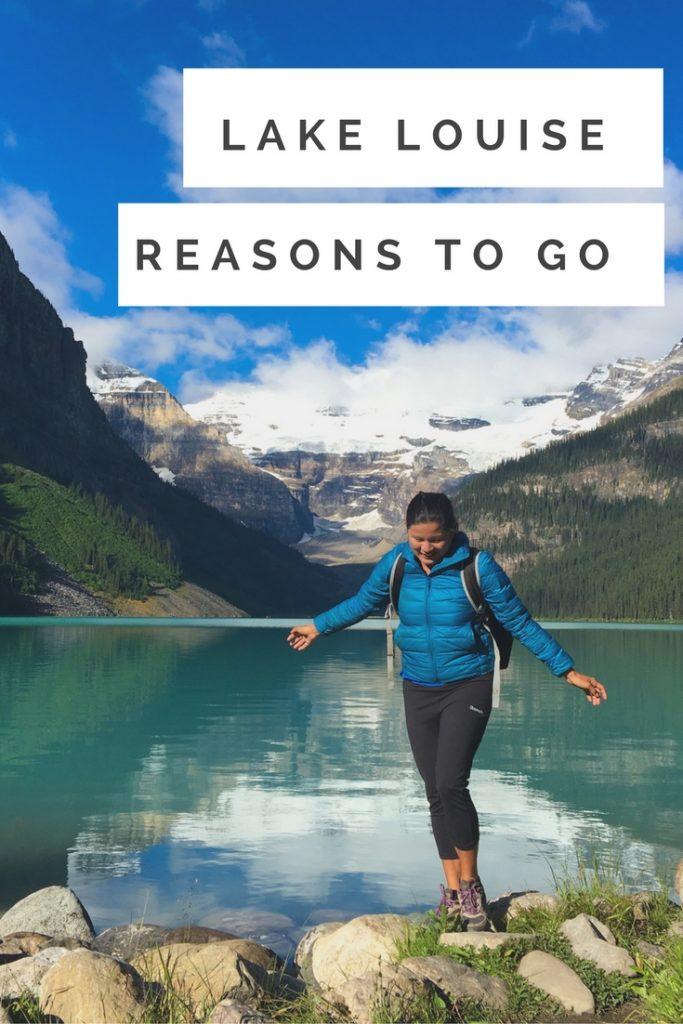 Reasons to visit Lake Louise Karlaroundtheworld