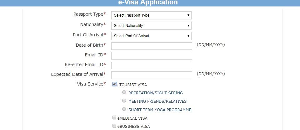 India-E-Visa