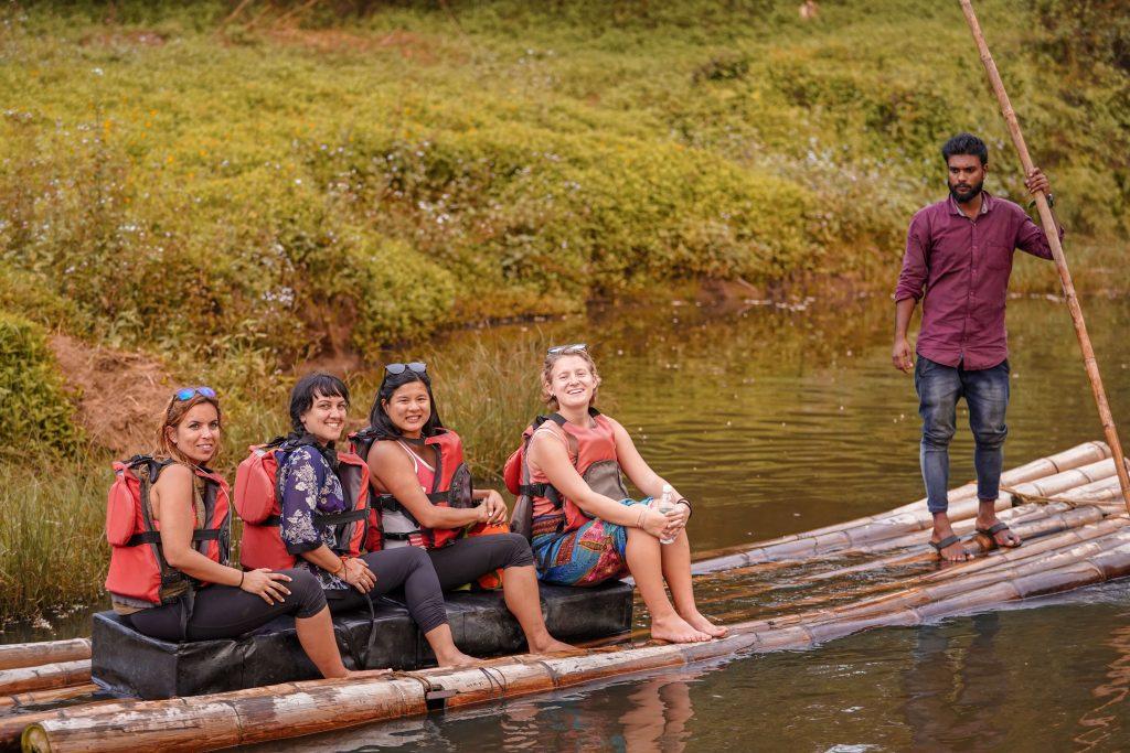 bamboo-rafting-wayanad