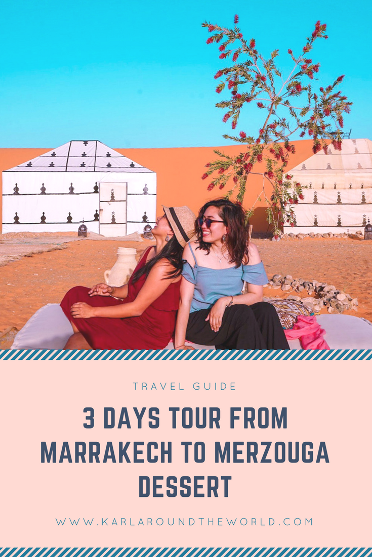 Marrakech to Merzouga Tour