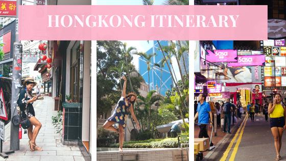 HongKong-Itinerary
