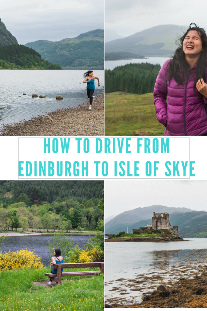 Drive from dinburgh to Isle of Skye