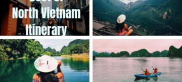 North Vietnam Itinerary