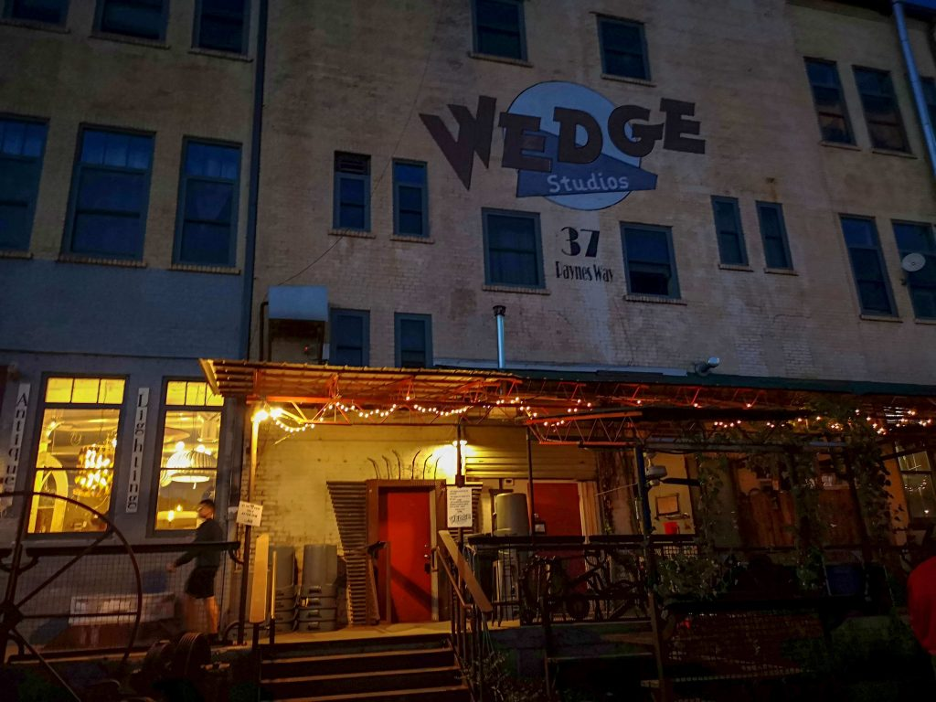 Wedge Brewery in Asheville