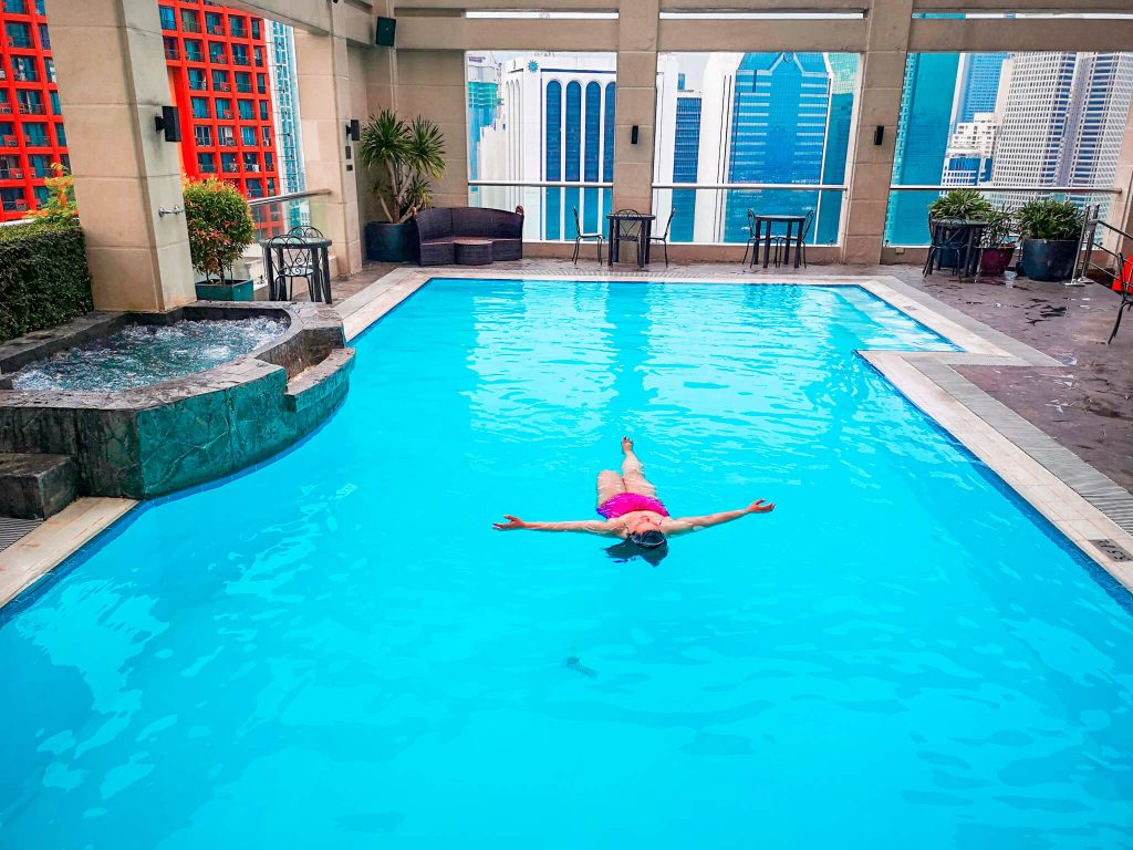 Swimming Pool at City Garden Makati
