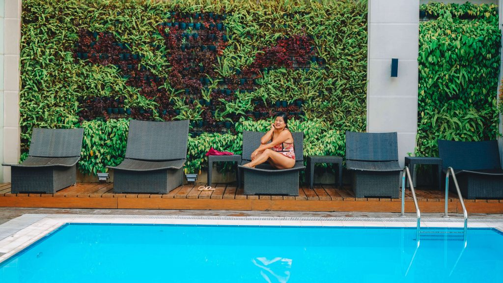 City Garden Makati Swimming Pool