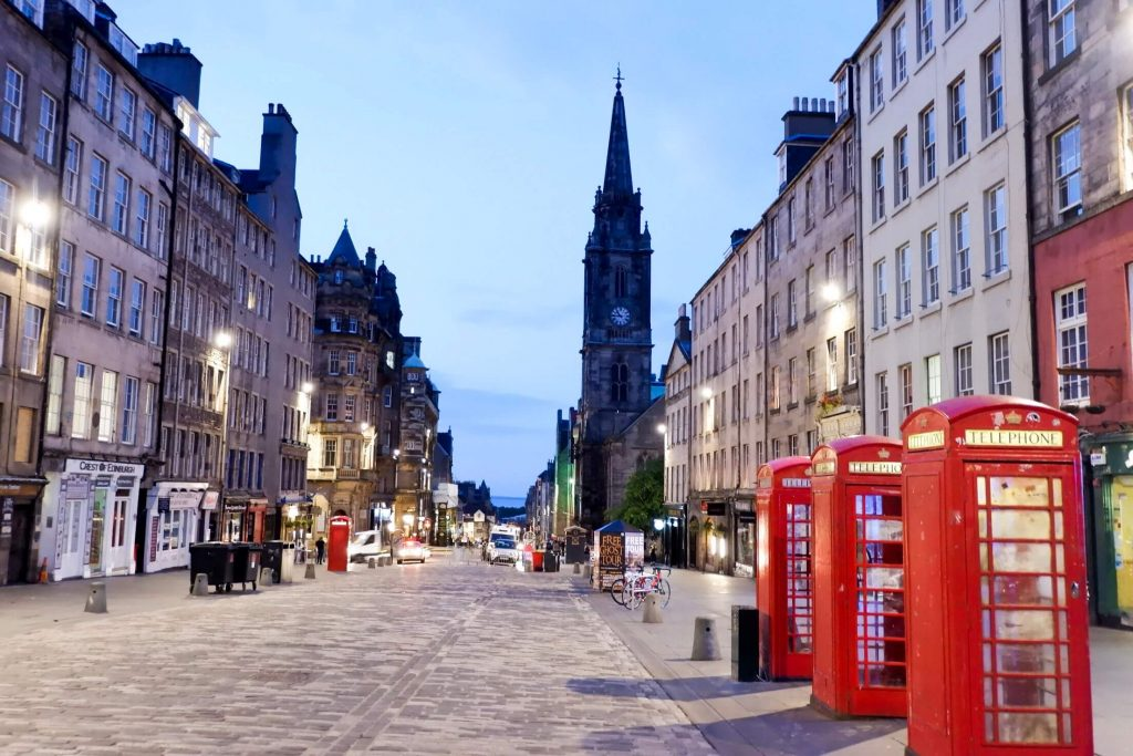Places to see in Edinburgh