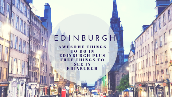 Free Things to do in Edinburgh