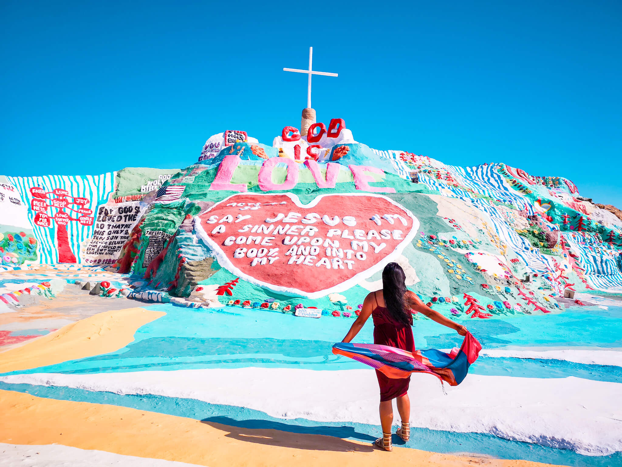 Salvation Mountain East Jesus Day Trip