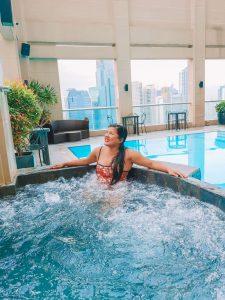 City Garden Makati Swimming Pool