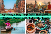 Local Table tour : Ayuthaya from Bangkok + Shrimp Farm