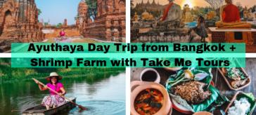 Local Table tour : Ayuthaya from Bangkok + Shrimp Farm