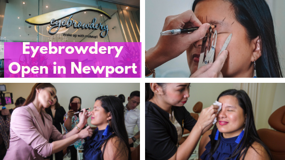 Eyebrowdery in Newport Boulevard