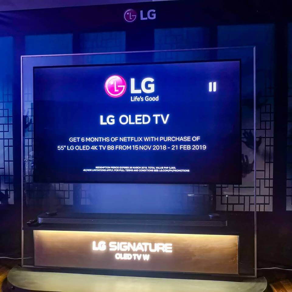 LG Smart Oled TV