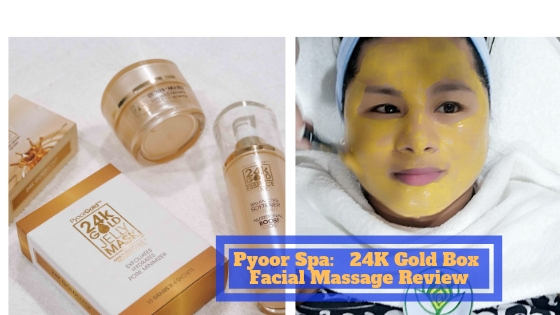 24K Pyoor Spa Essentials