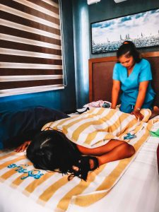 Massage at Cabin Crusoe