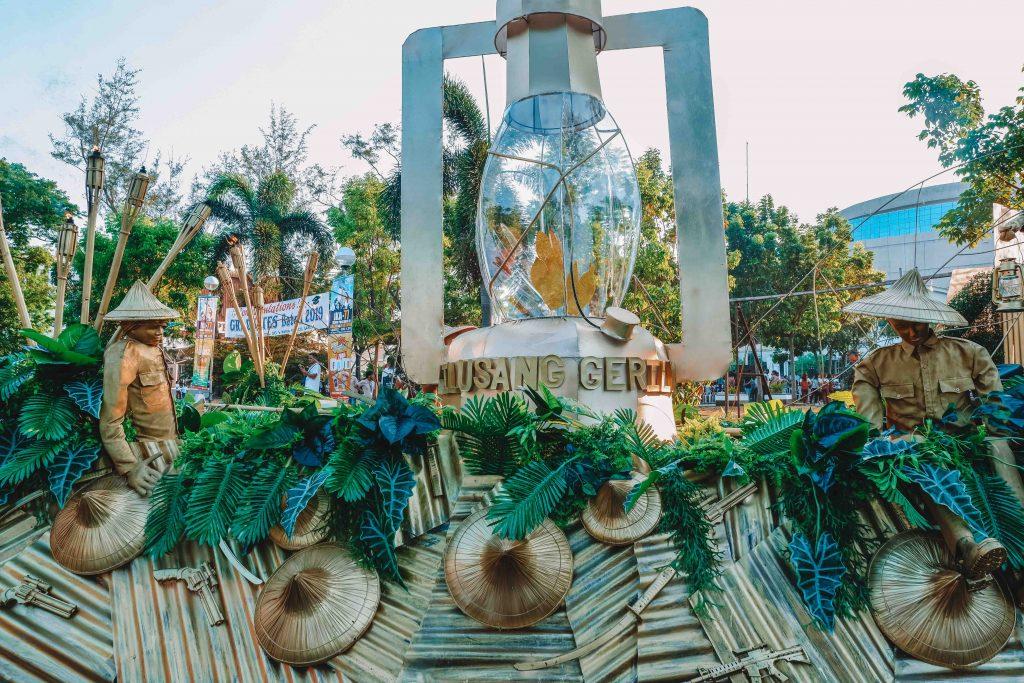 Float Parade for Araw ng Kagitingan in Bataan