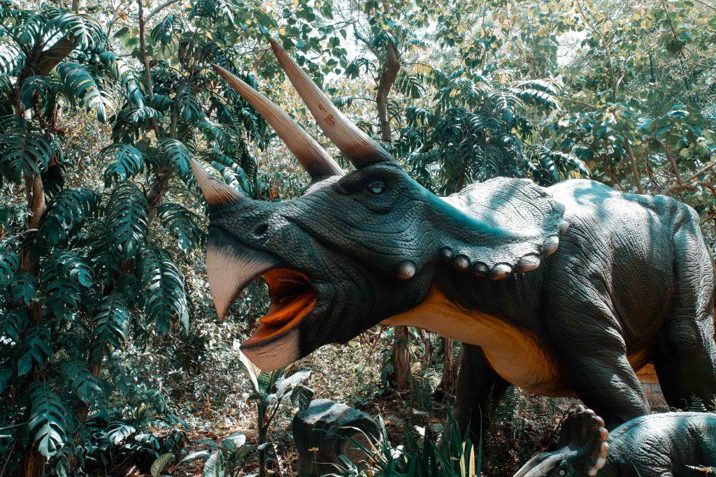 Dinosaur Island Park in Clark
