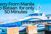 Ferry from Manila to bataan