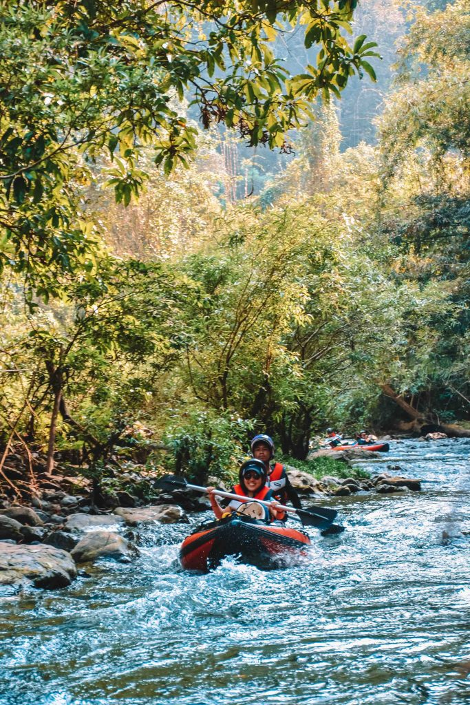 Nam Ha RIver Kayaking