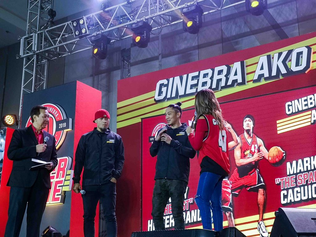 Ginebra Never Say Die Jersey