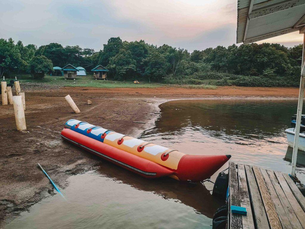 Banana Boat at Mountain Lake Resort