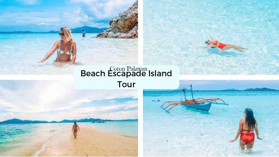 Coron Island Escapade Tour