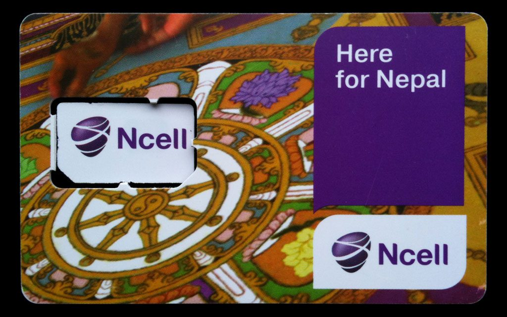 Ncell Sim Card in Nepal