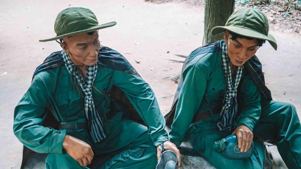 Cu Chi Tunnels Soldiers