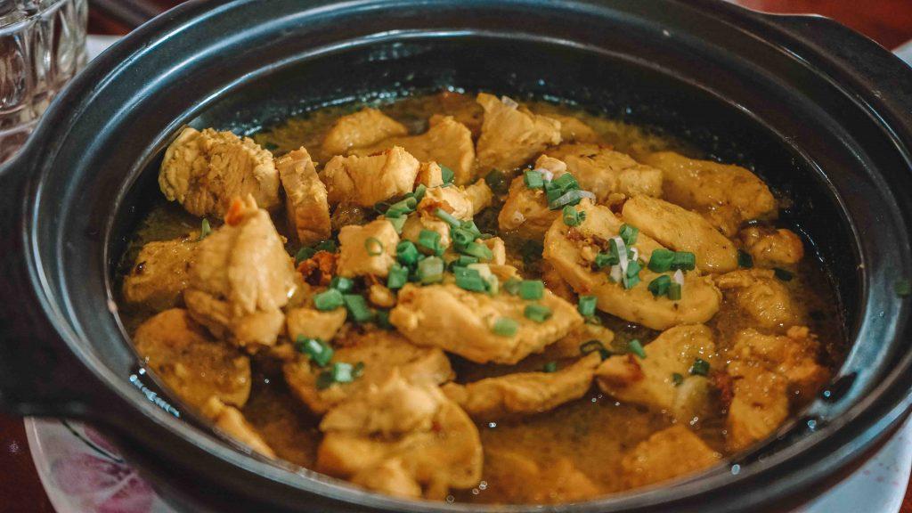 Cu Chi Tunnels Food