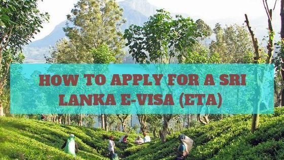 Sri Lanka E Visa